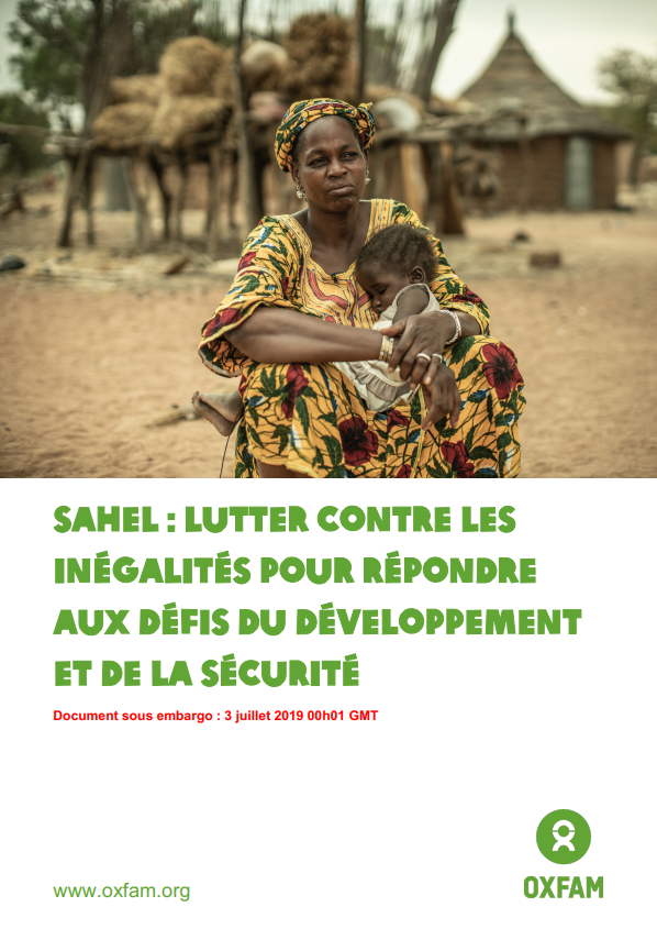 Rapport Sahel_Photo couv